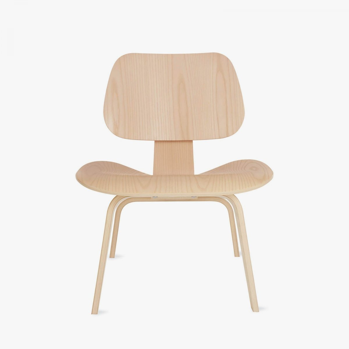 Excellent Herman Miller Eames Molded Plywood Lounge Chair With Wood Base Cjindustries Chair Design For Home Cjindustriesco
