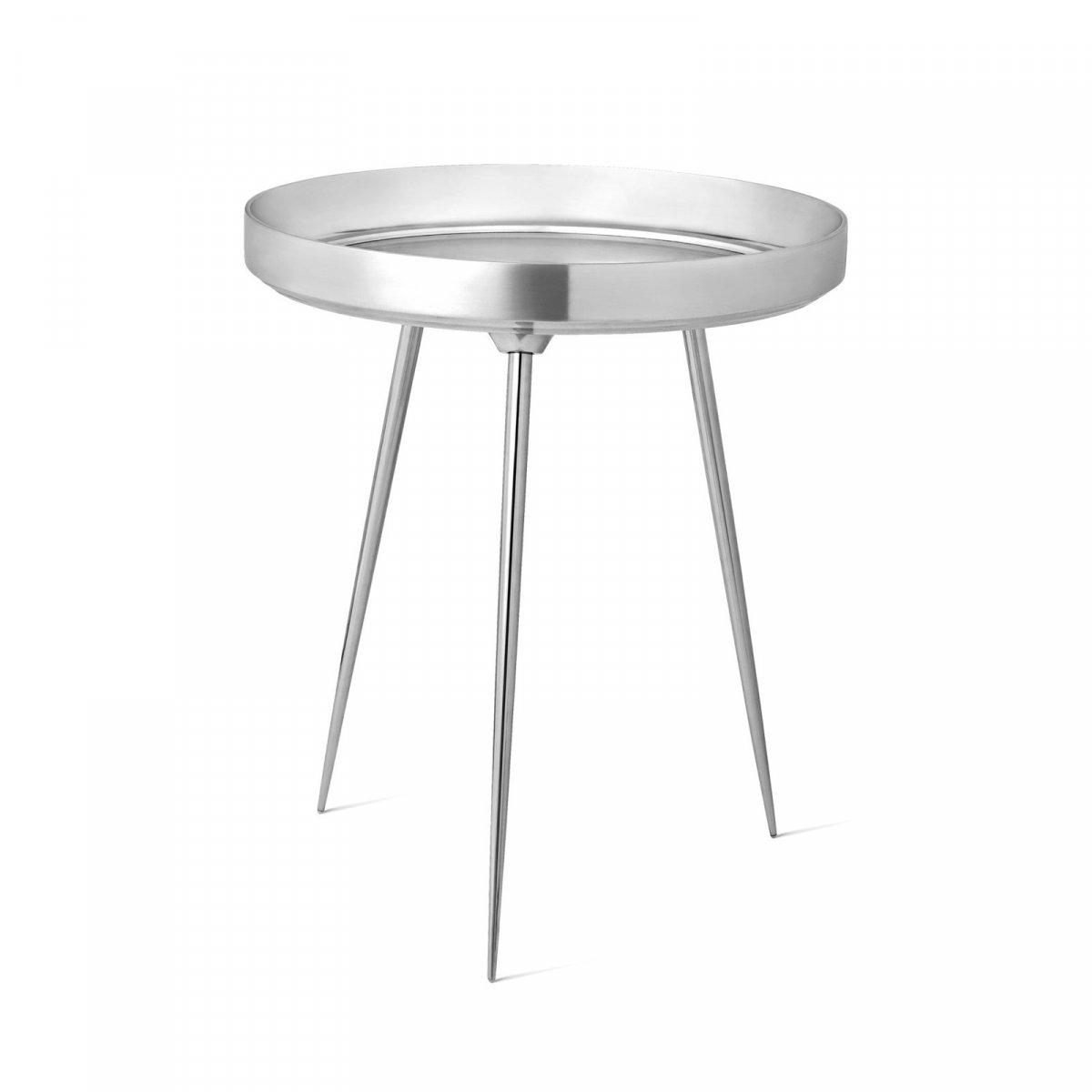 Alu Bowl Table, polished.