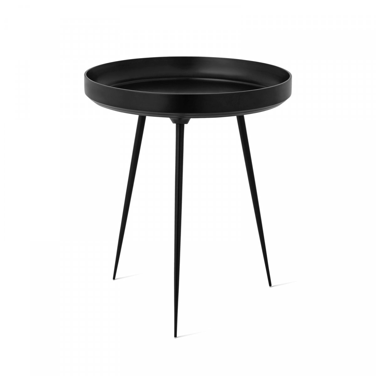 Alu Bowl Table, black.