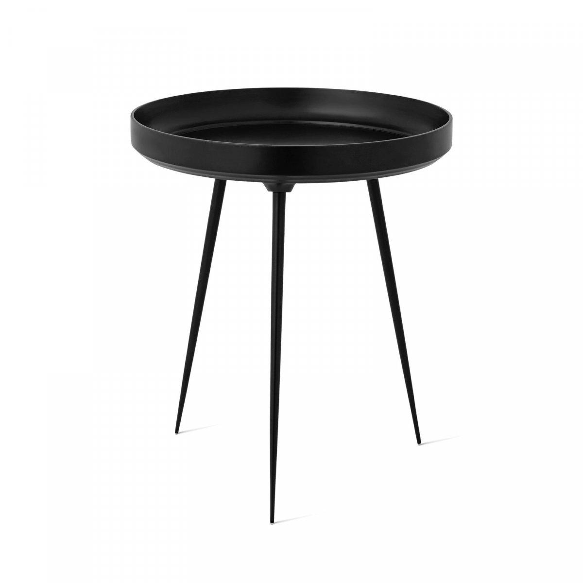 Alu Bowl Table, black.