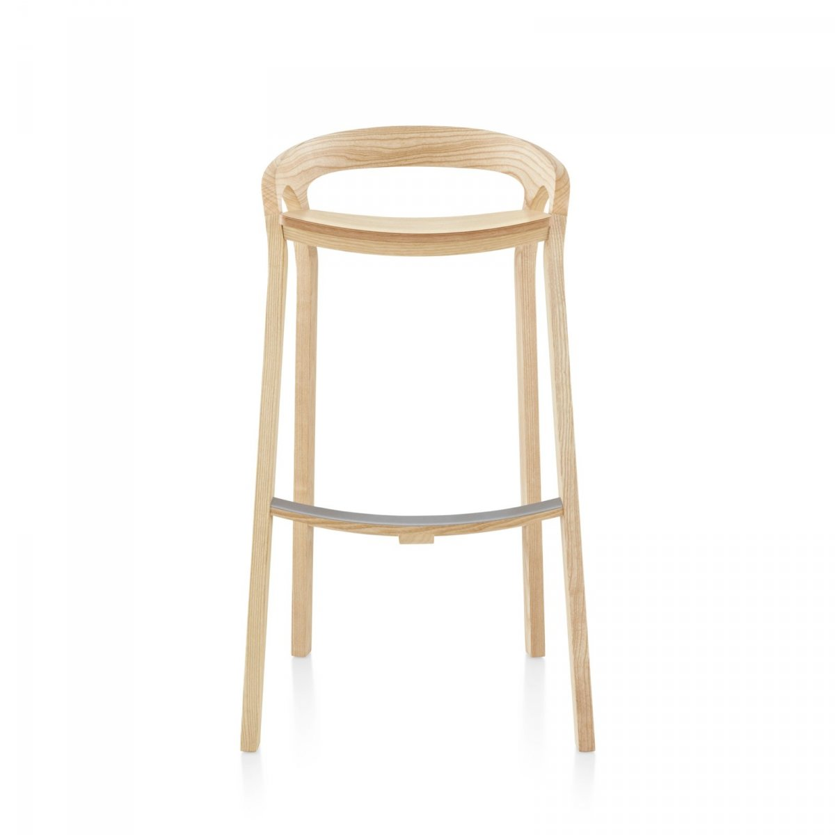 She Said Bar Stool, front view.