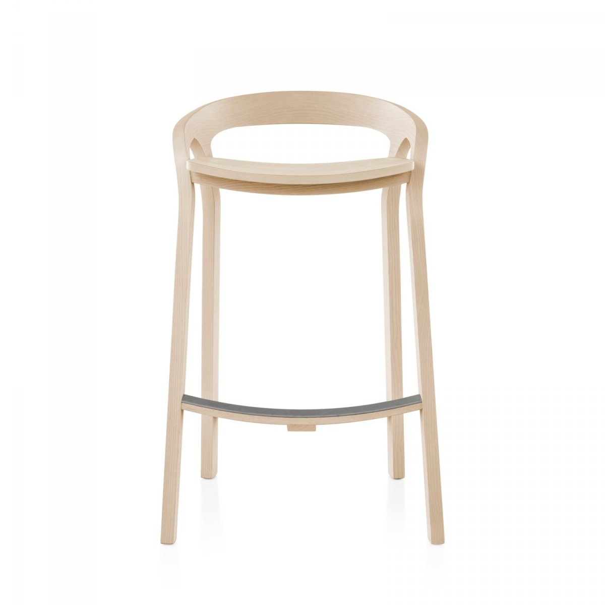 She Said Counter Stool, front view.