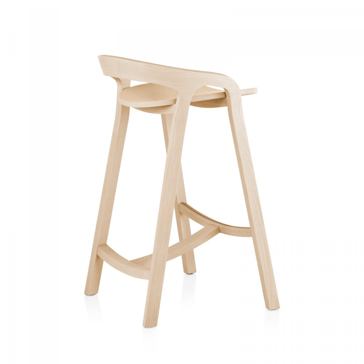 She Said Stool By Studio Nitzan Cohen For Mattiazzi Up