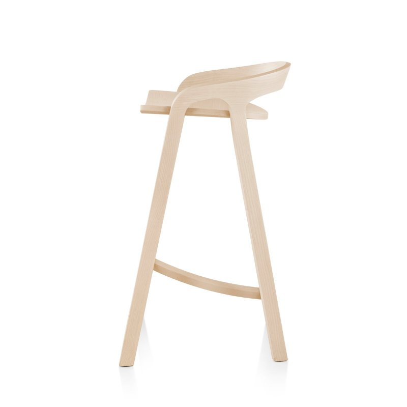She Said Counter Stool, side view.