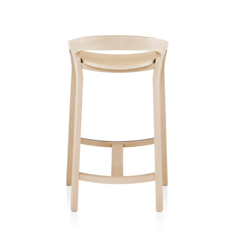 She Said Counter Stool, back view.