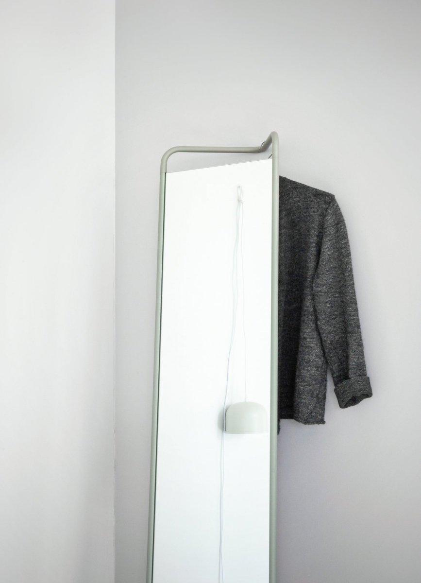 Kaschkasch Floor Mirror, moss green.