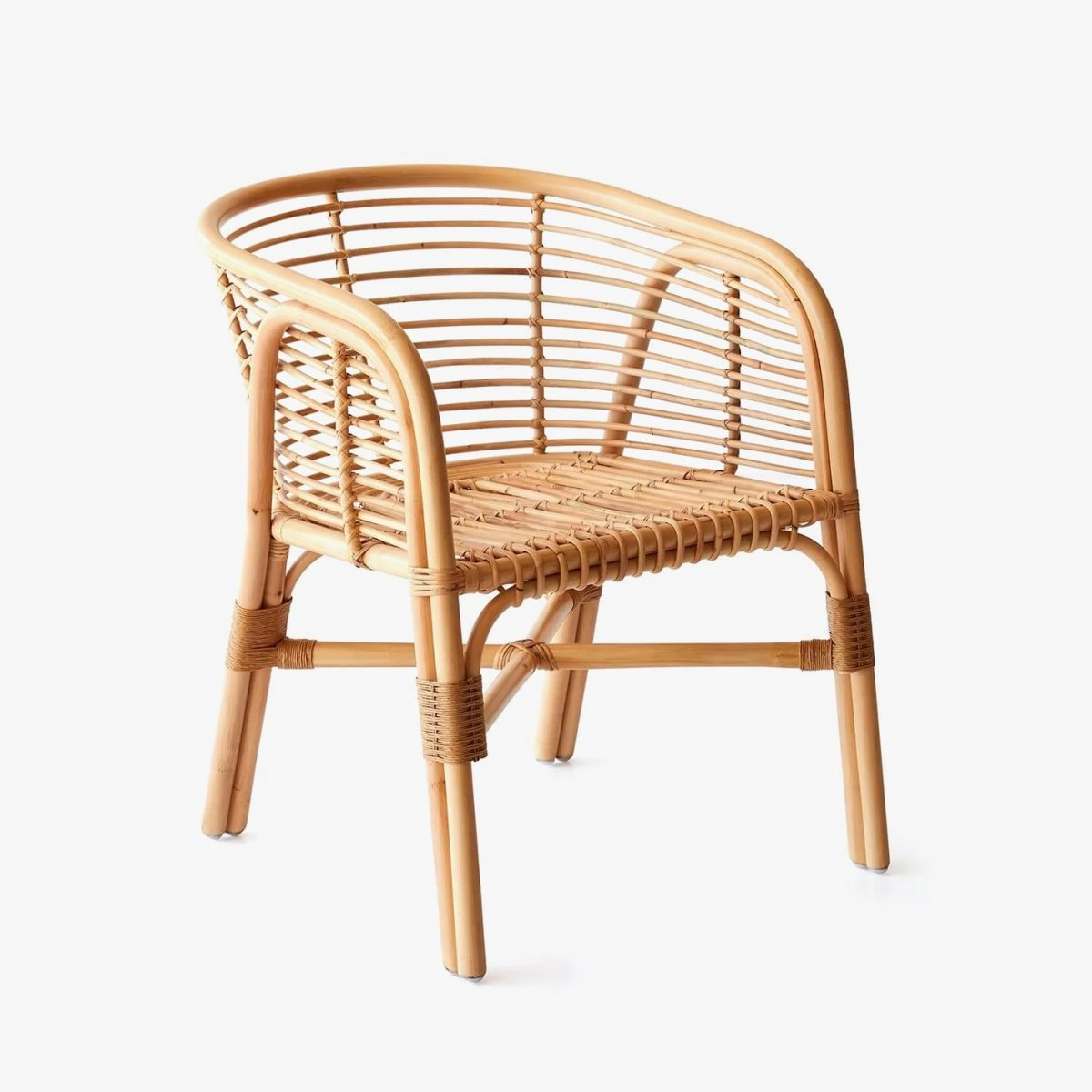 Lombok Rattan Lounge Chair.