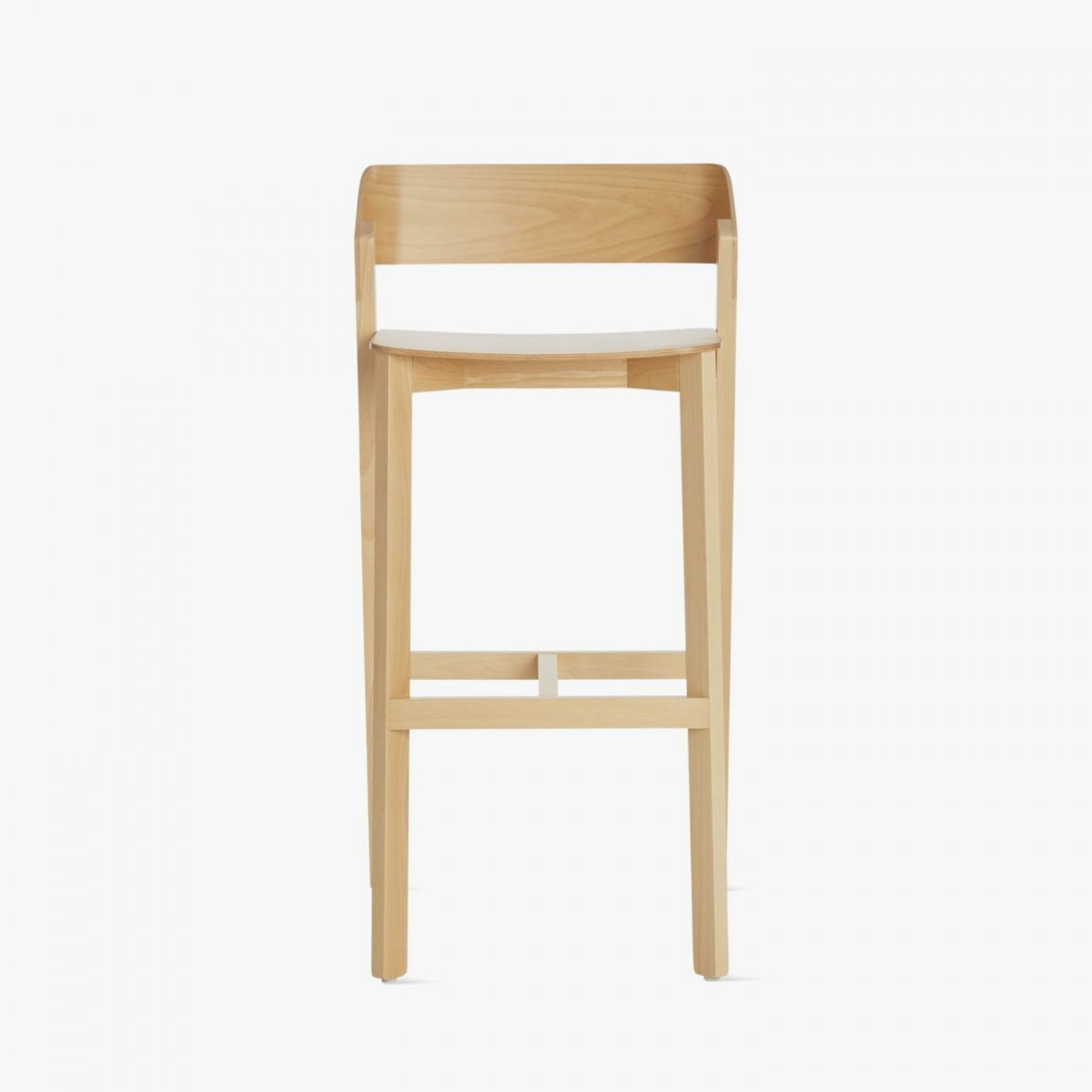 Barstool Merano, front view.