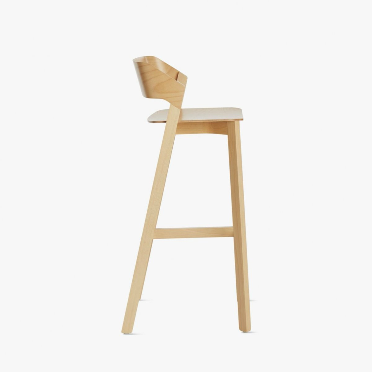 Barstool Merano, side view.