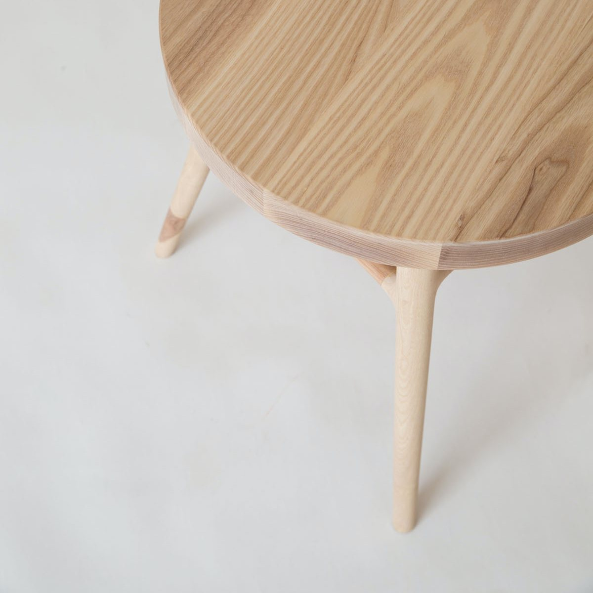 Bough Stool, top view.