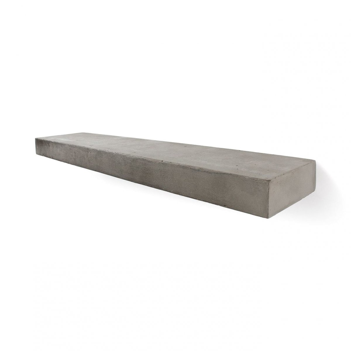 Sliced S Concrete Shelf.