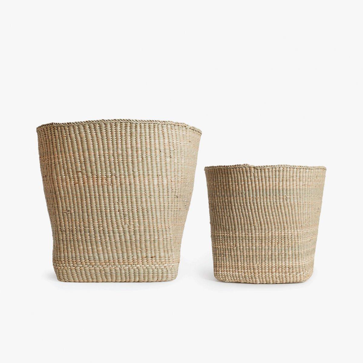 Woven Storage Baskets.