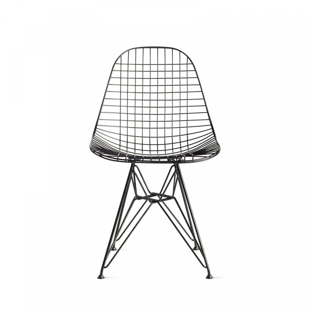 Eames Wire Chair, black.