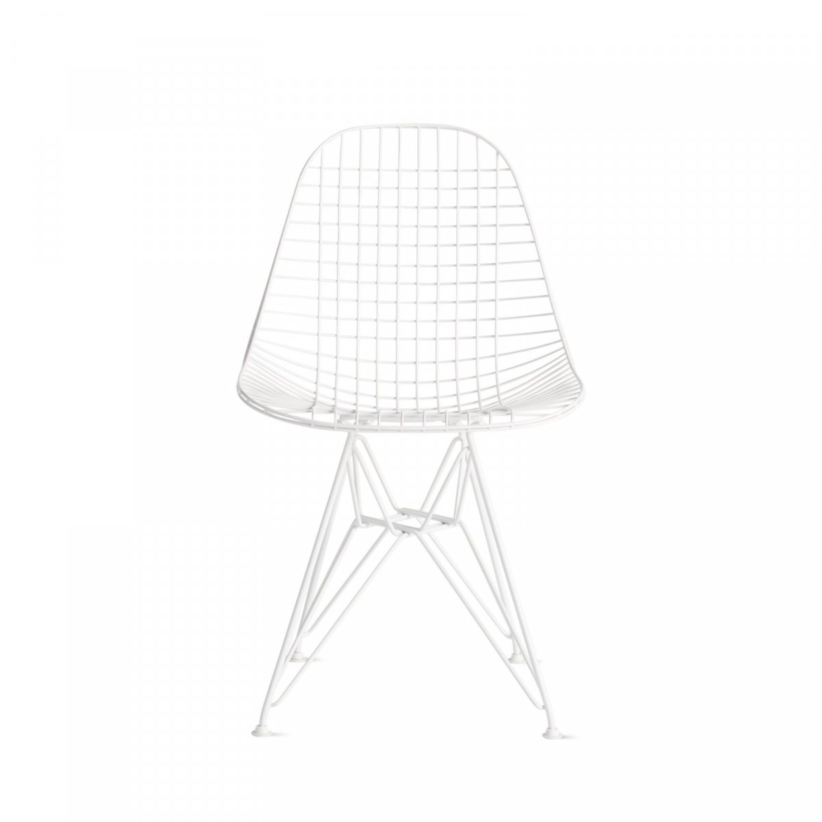 Eames Wire Chair, white.
