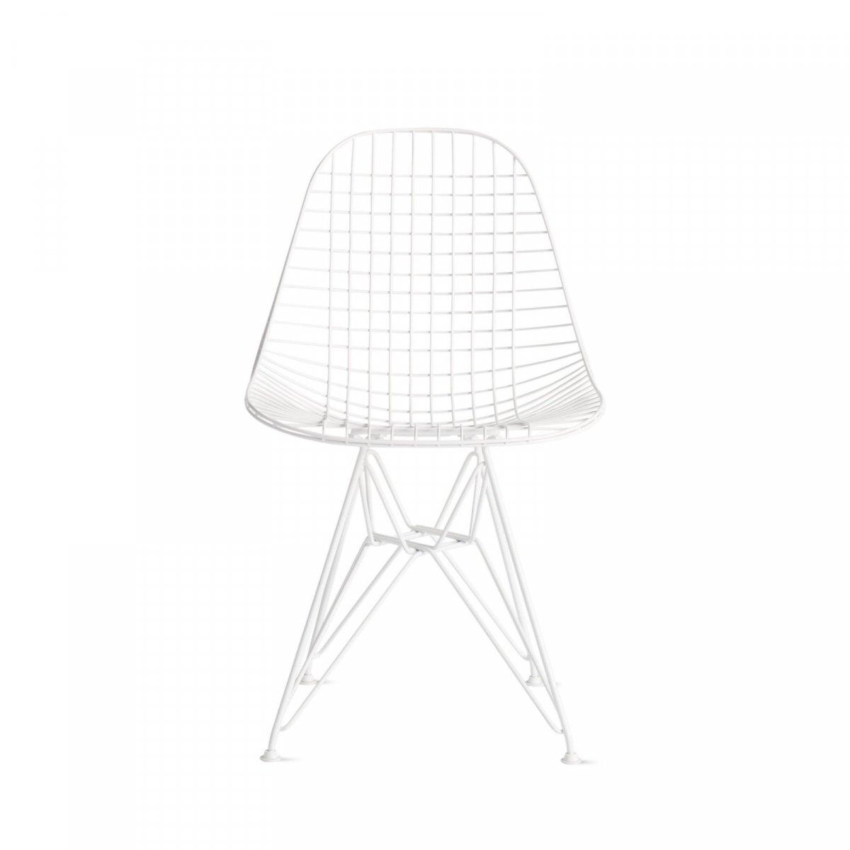 Eames Wire Chair, white.