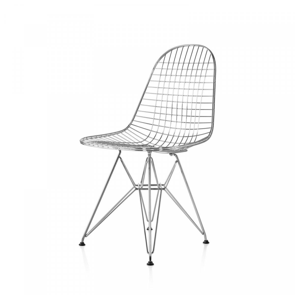 Eames Wire Chair, chrome.
