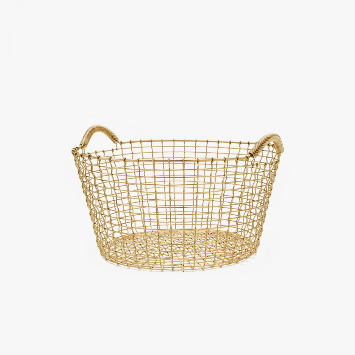 Korbo Handwoven Wire Basket, Classic 35.