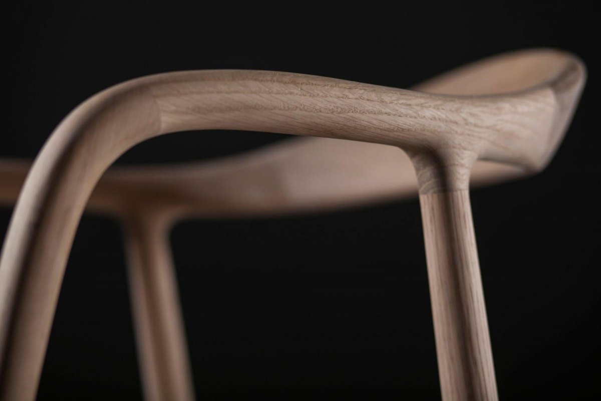Neva Chair, detail.
