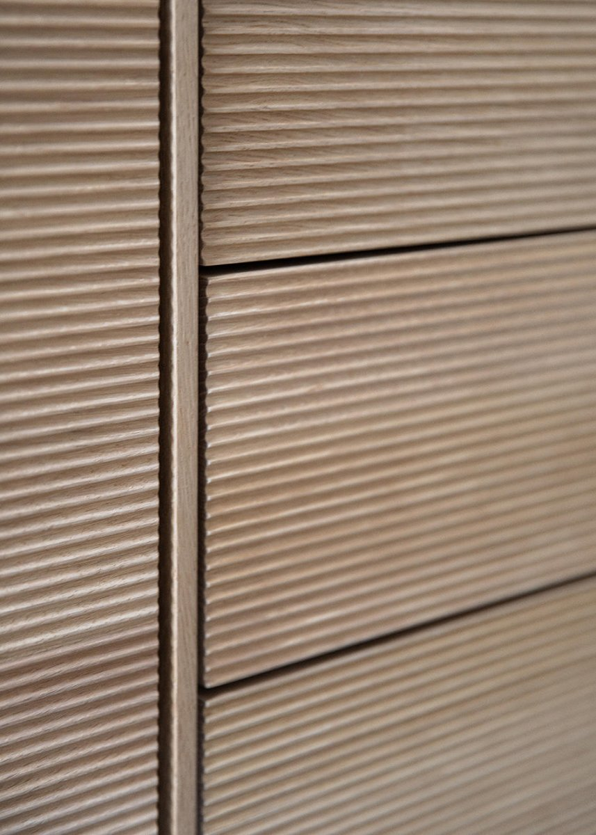 Modulo Large Cabinet, detail.