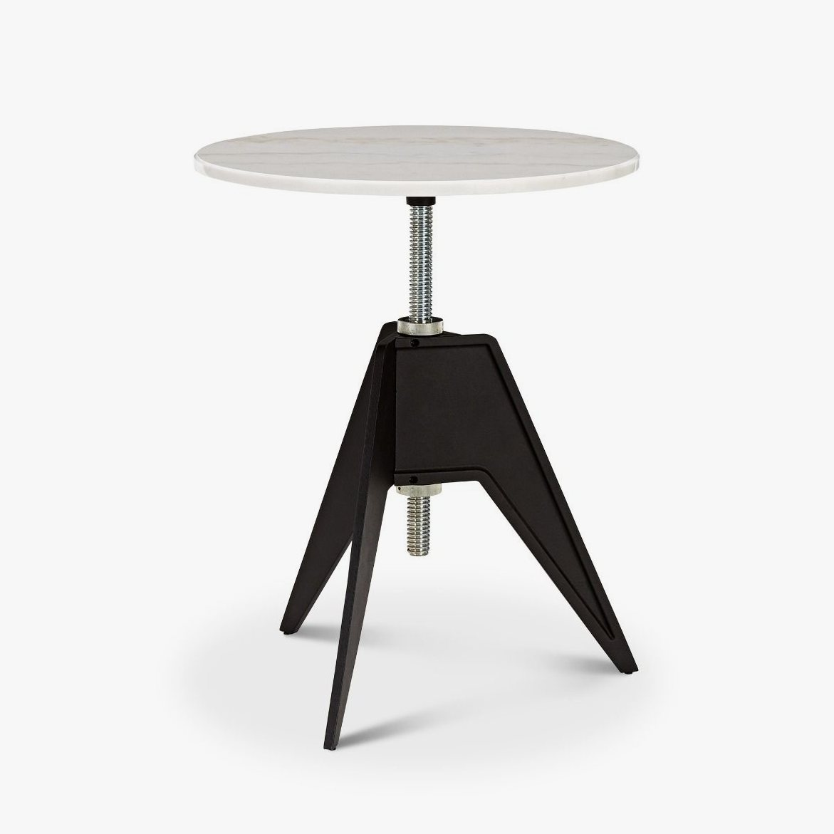 Screw Table with 60 cm top.