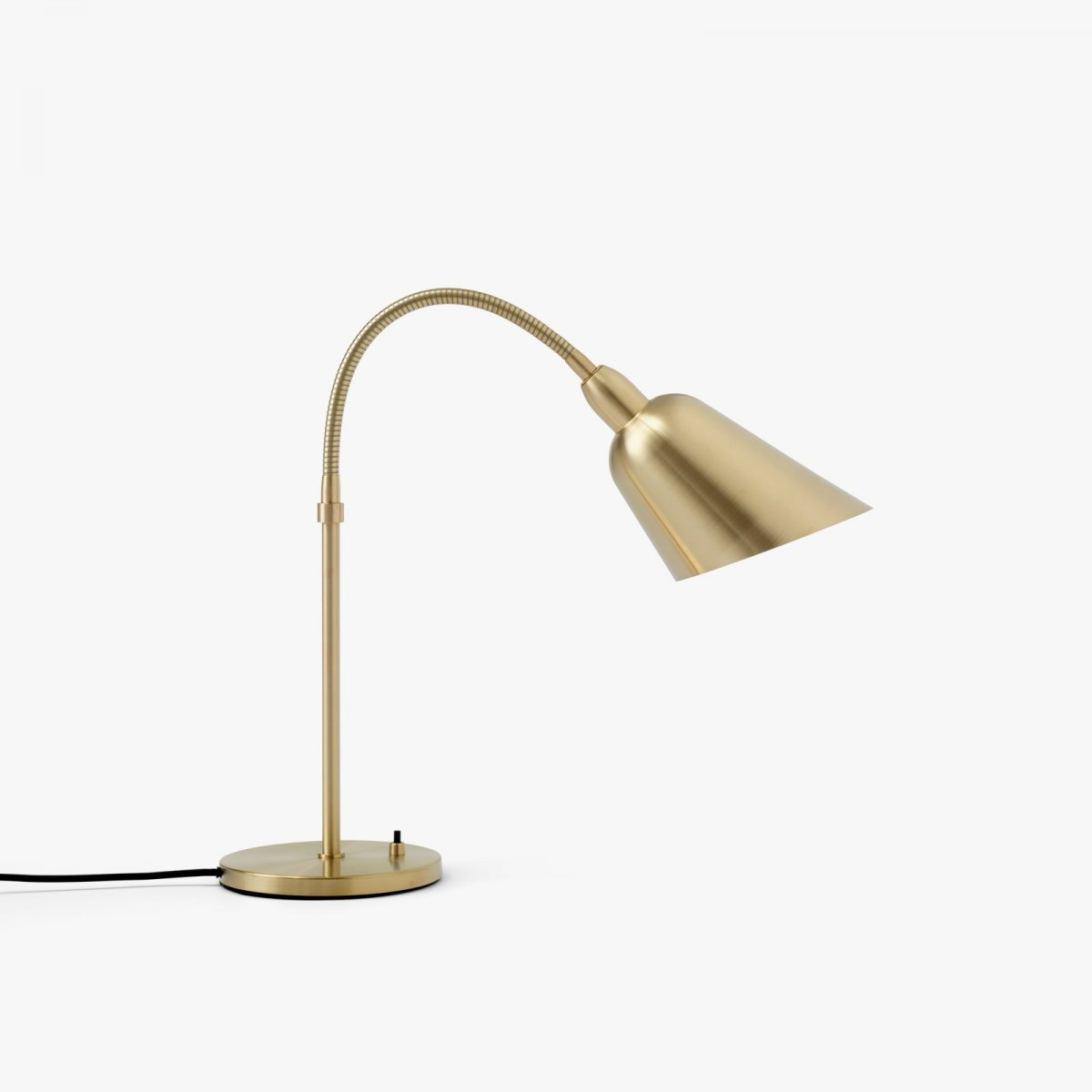 Bellevue AJ8 work lamp, brass.