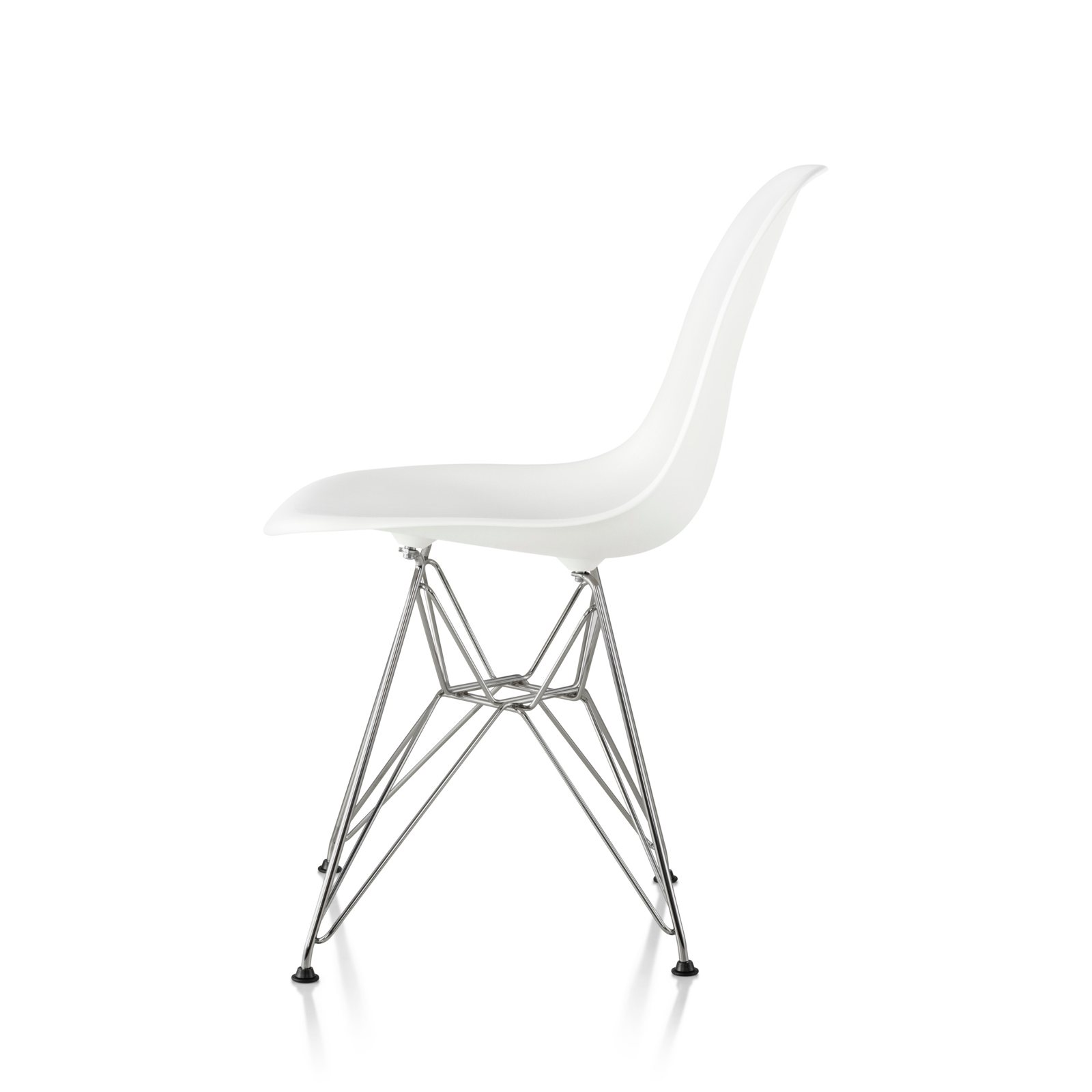 Eames Molded Plastic Side Chair Wire Base By Charles Amp Ray Eames For