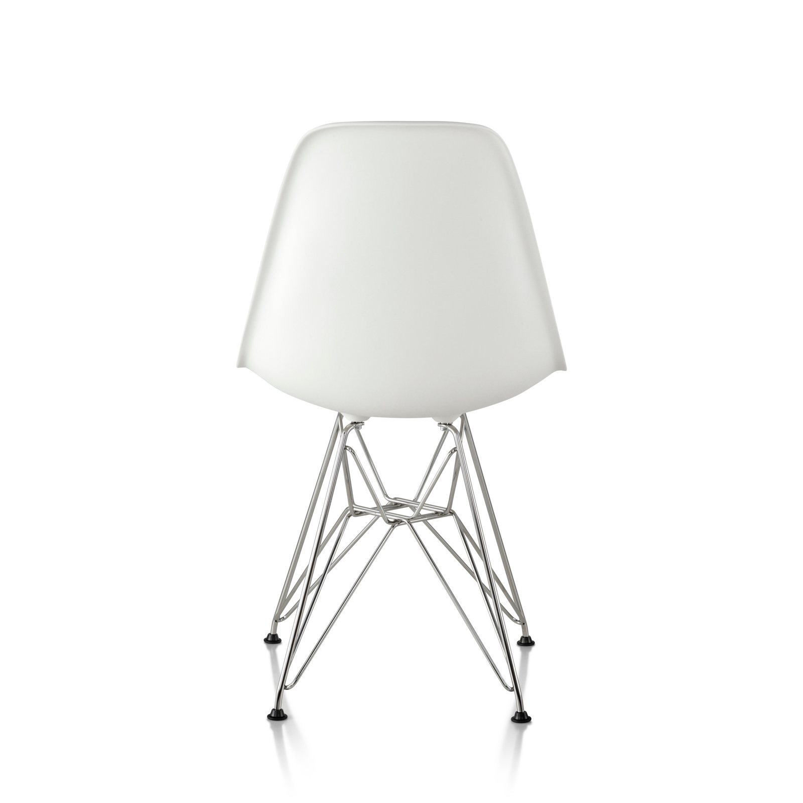 eames molded plastic side chair wire base by charles ray. Black Bedroom Furniture Sets. Home Design Ideas