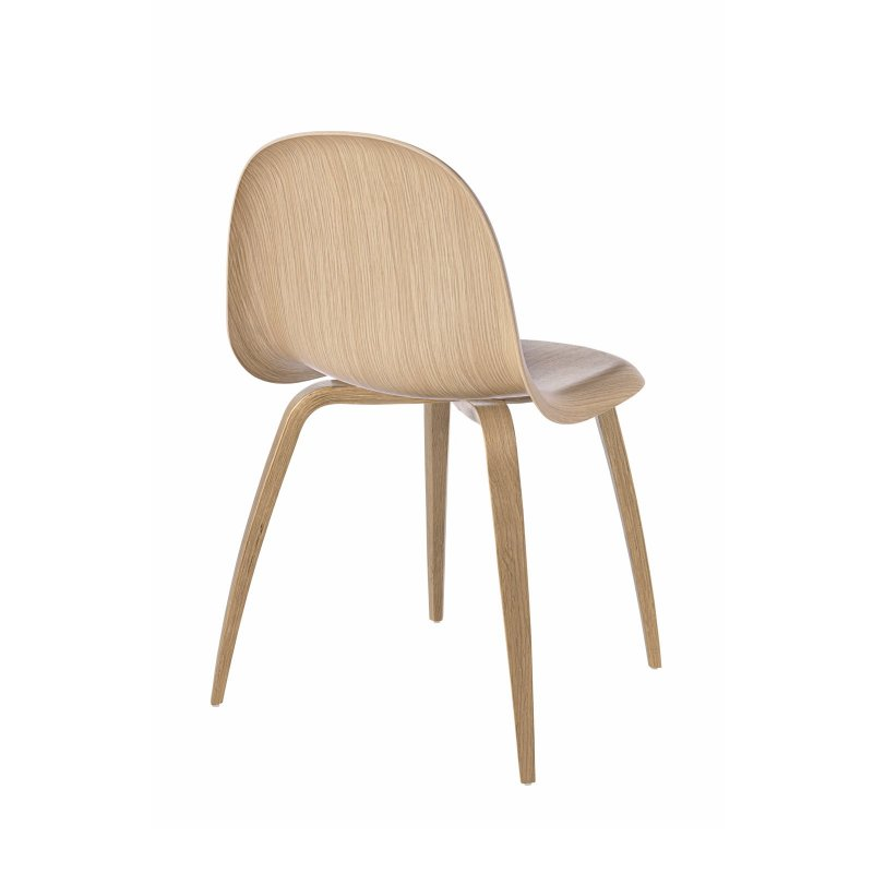 Gubi 5 chair, oak.