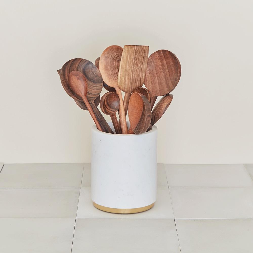 Simple Walnut Spoons.