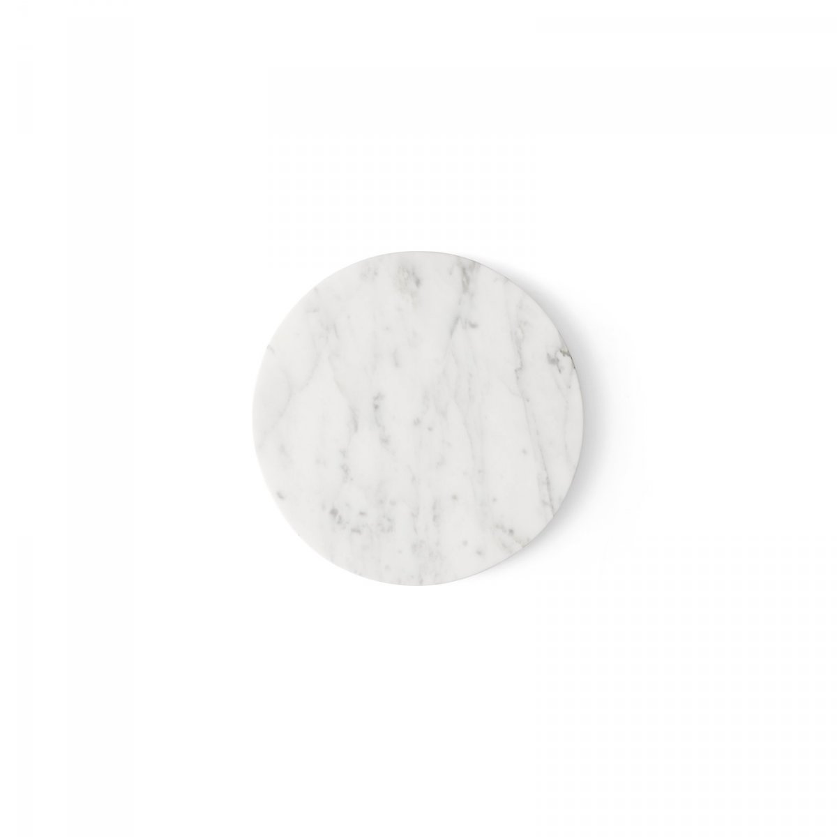 Wire Marble Top, white.