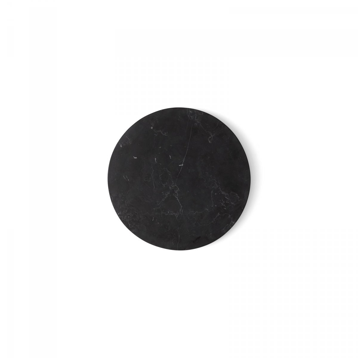 Wire Marble Top, black.