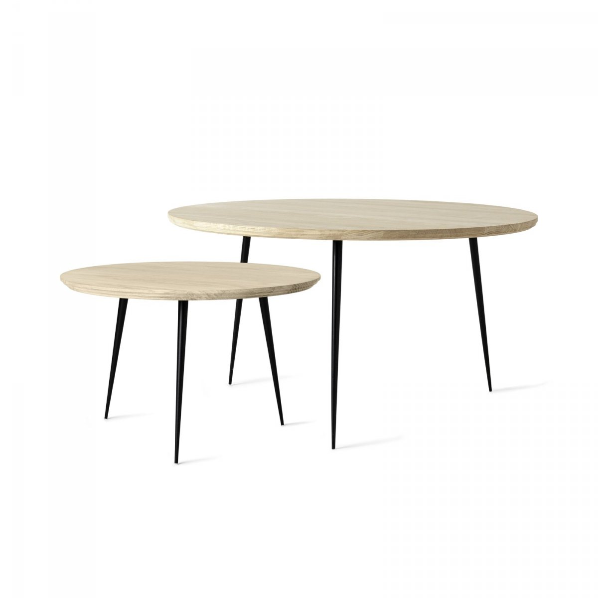 Disc Tables, small and medium.