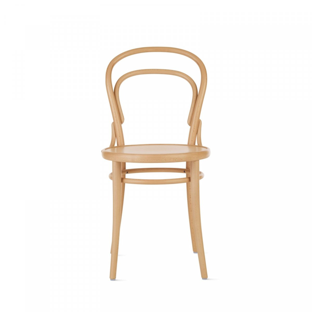 Era (214) chair, natural, front view.