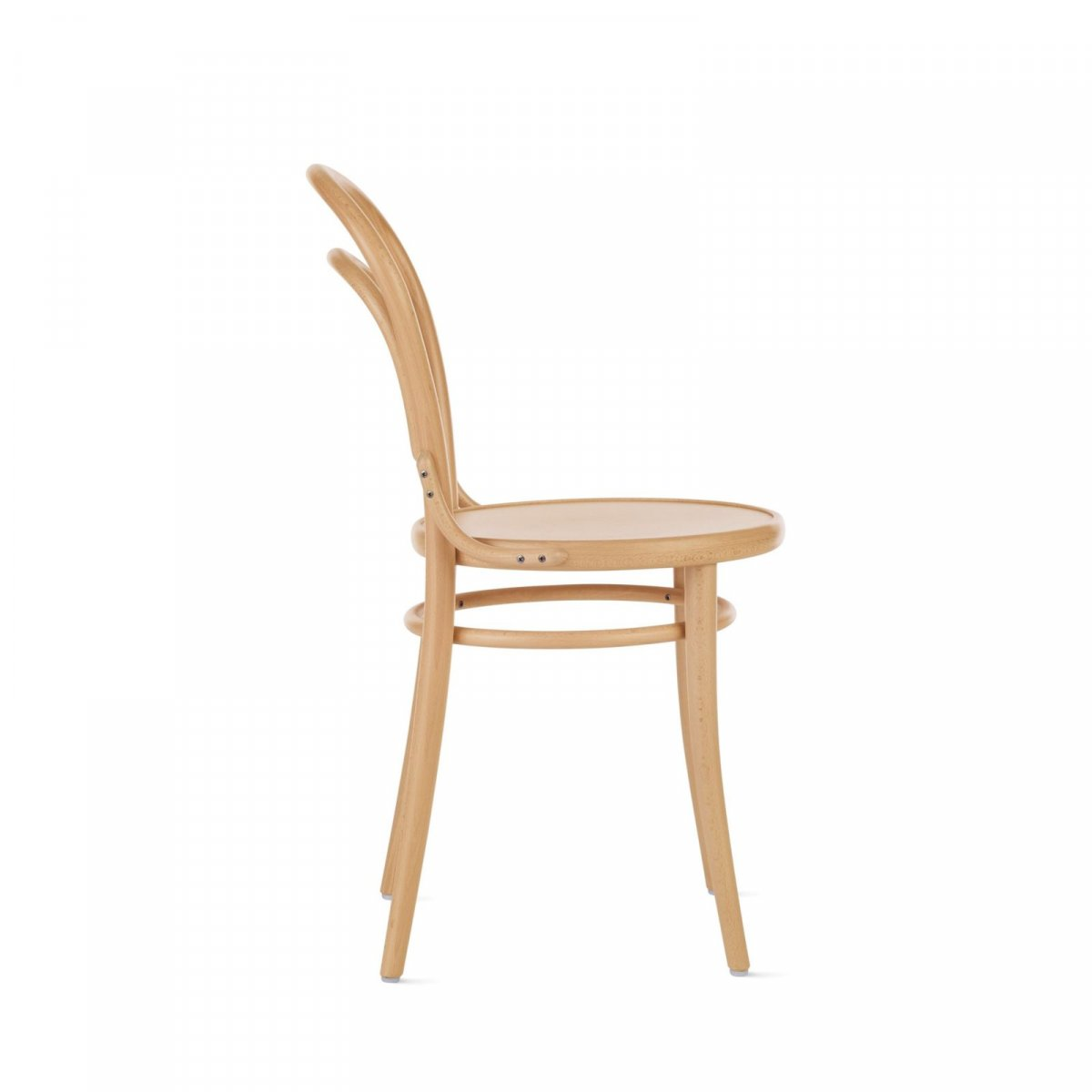 Era (214) chair, natural, side view.