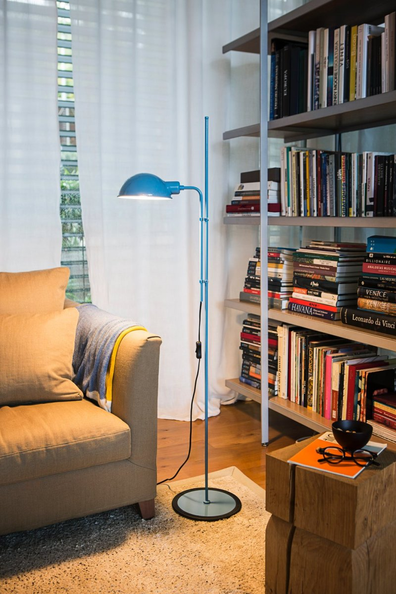 Funiculí Floor Lamp, blue.