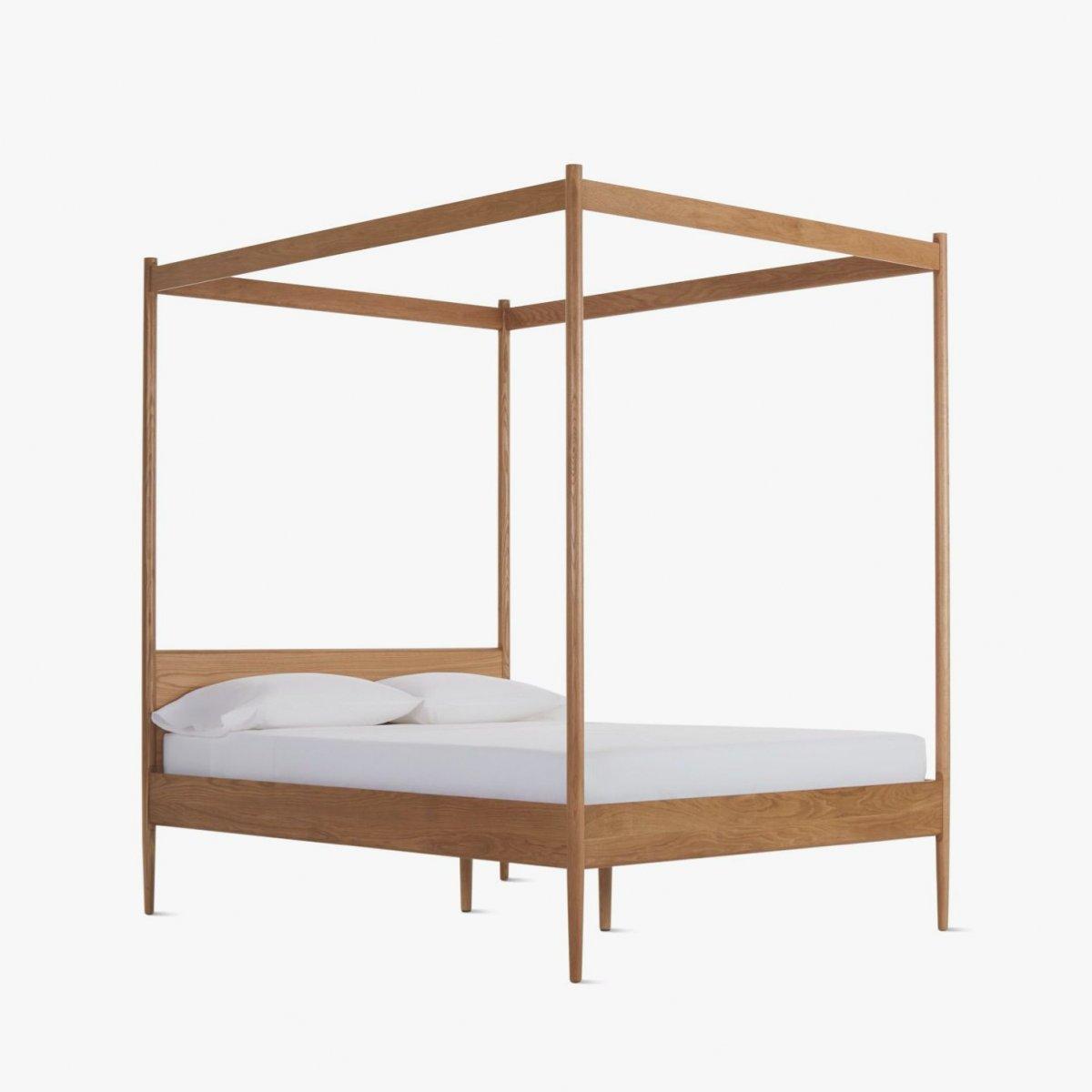 Cove Canopy Bed, oak.