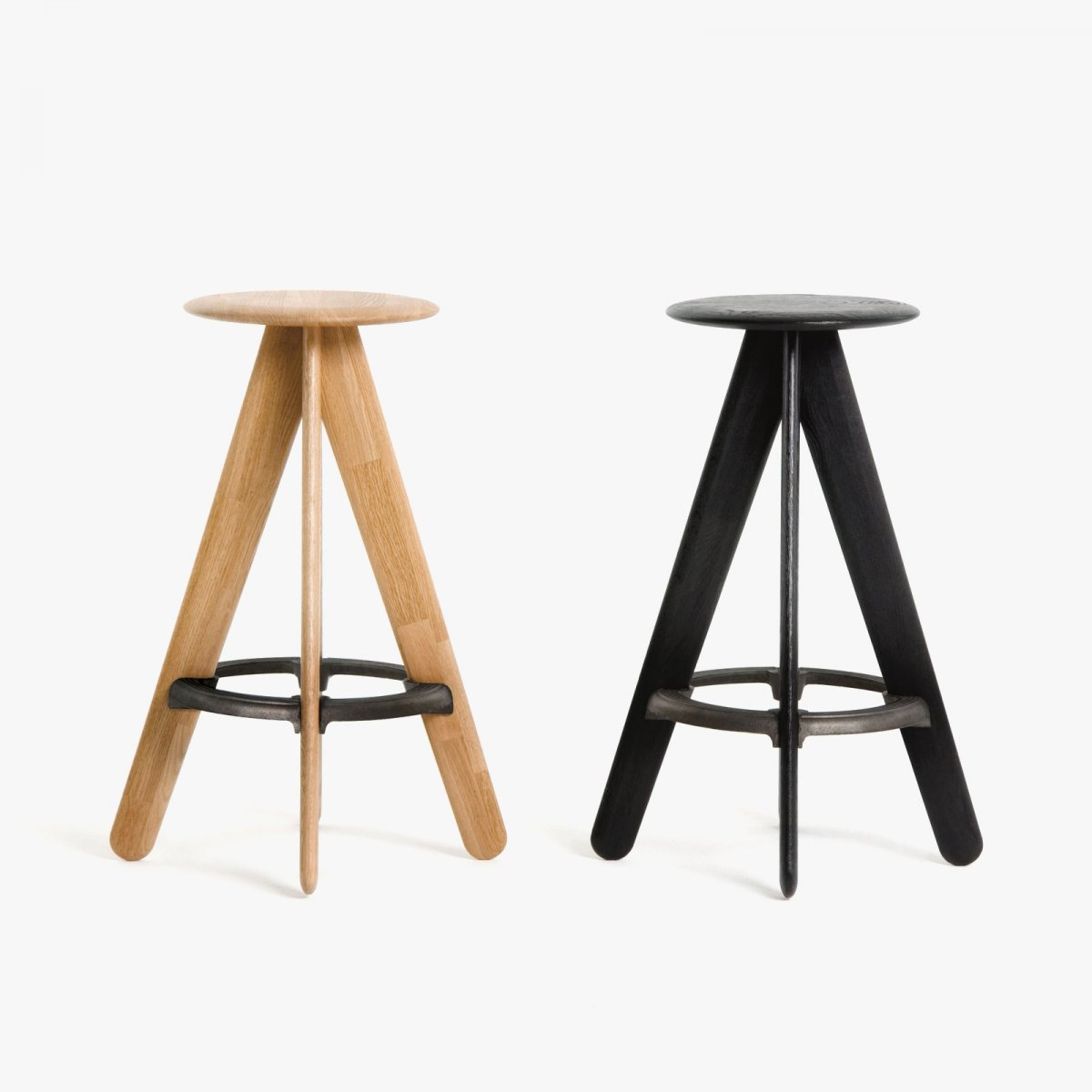 Slab Bar Stools.