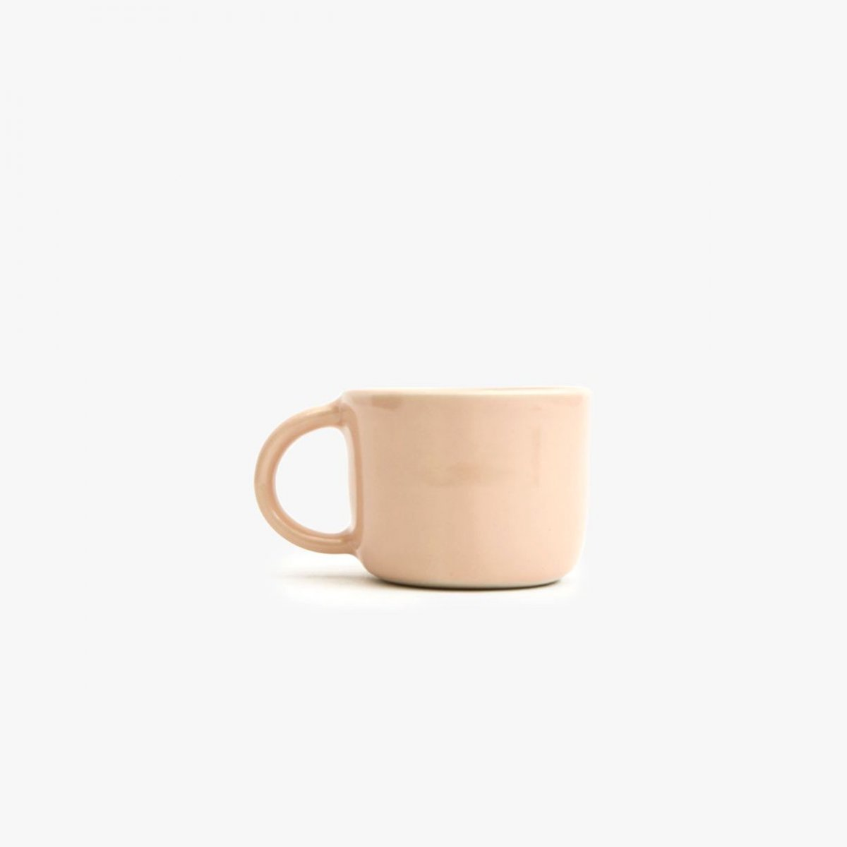 Traditional Mug, peach.