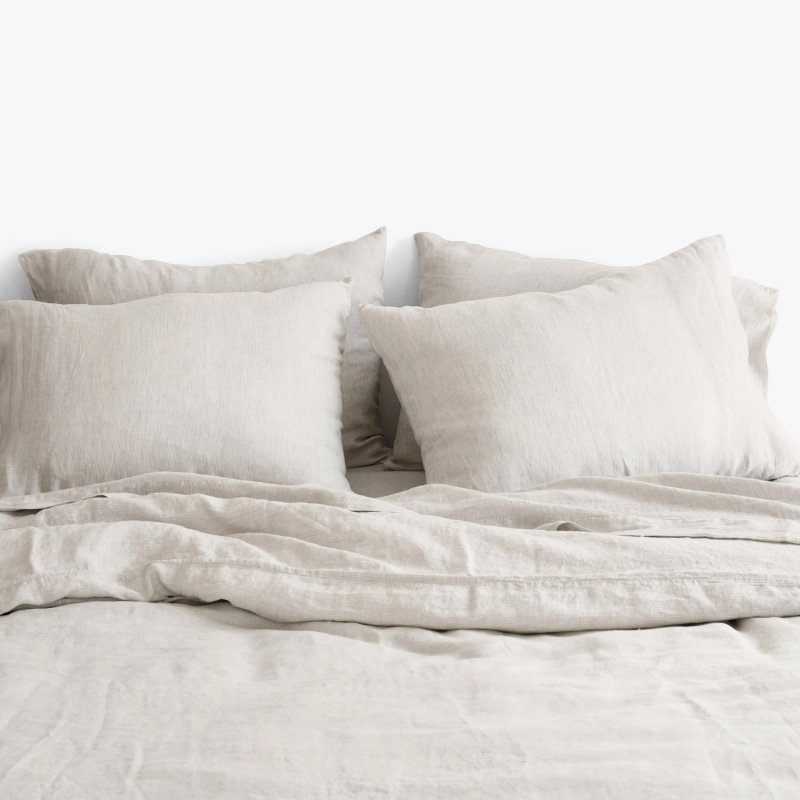 Stonewashed Linen Bed Bundle