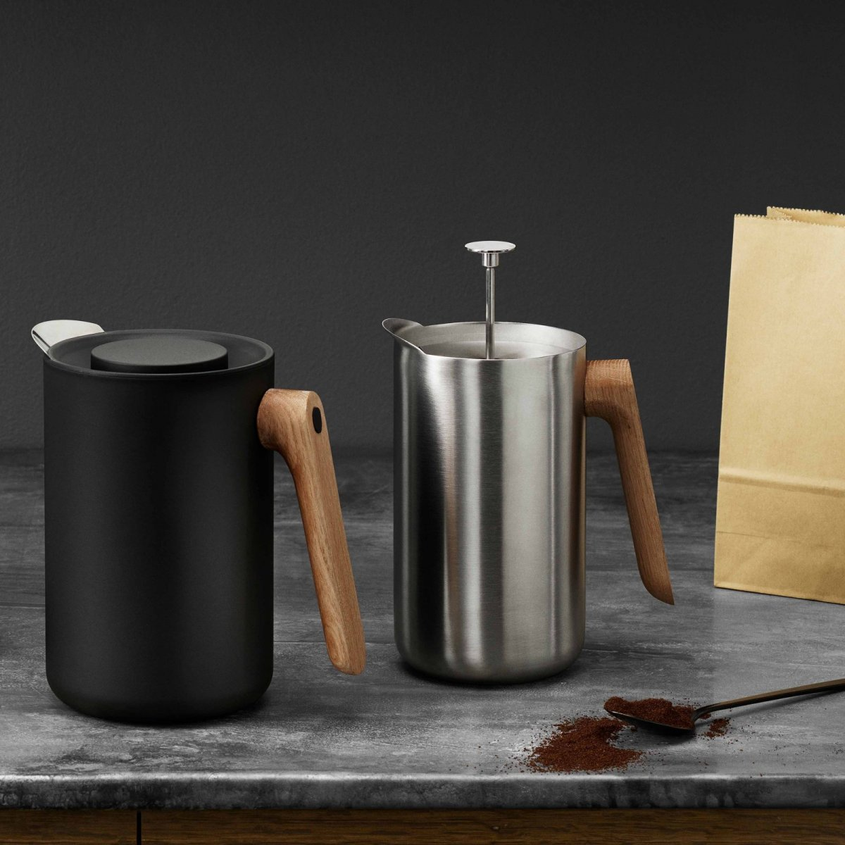 Nordic Kitchen Thermo Cafetiére and Vacuum Jug.