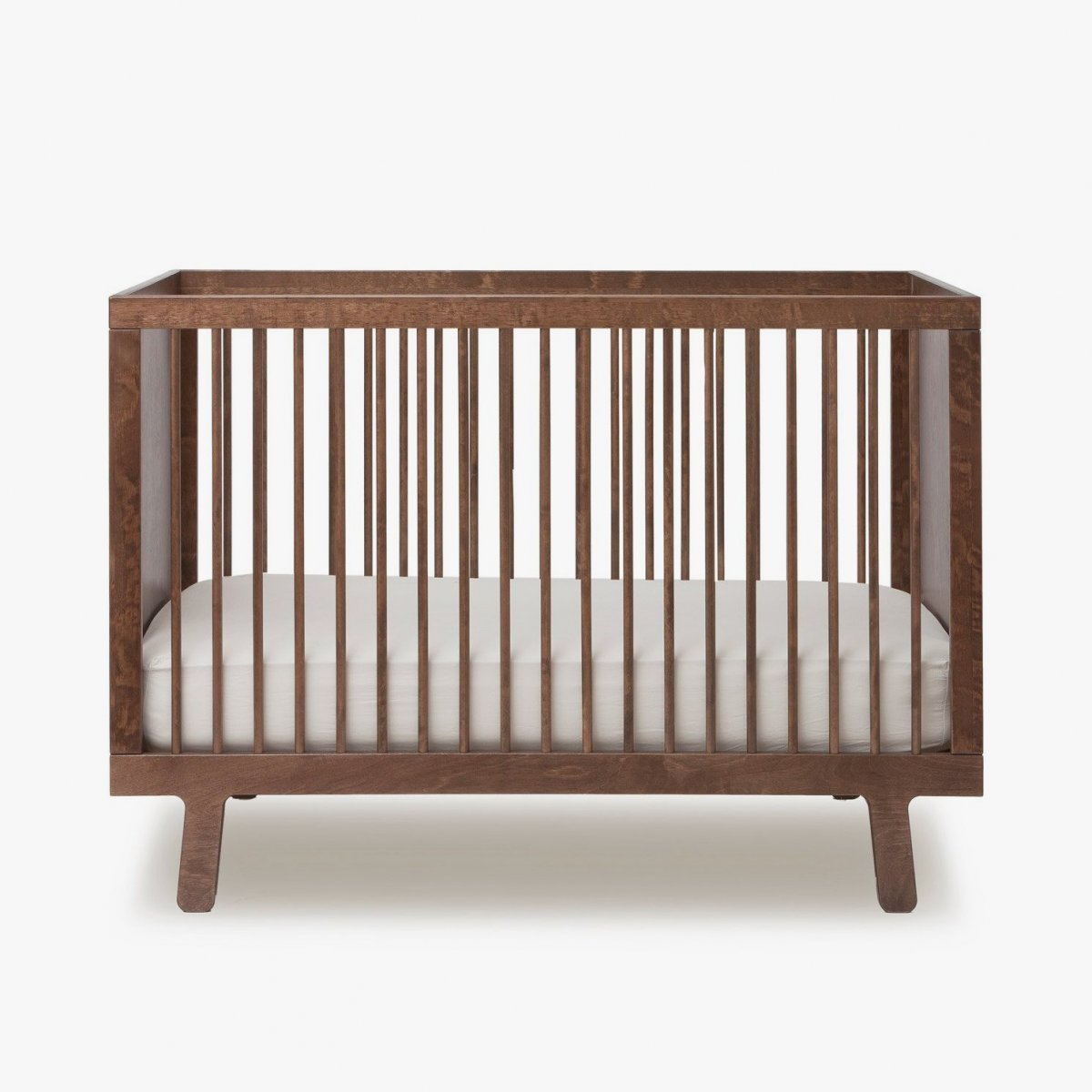 Sparrow Crib, walnut.