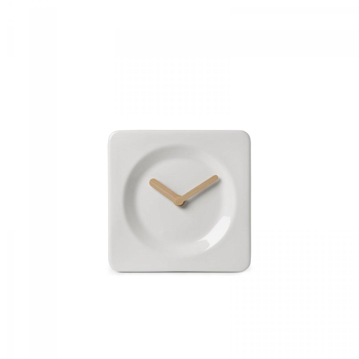 Tile desk/wall clock.