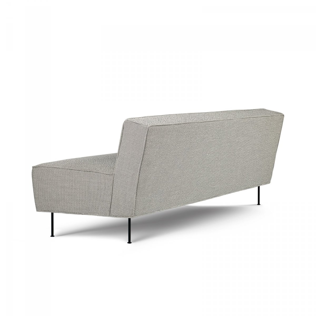 Modern Line 2-Seater Sofa, back view.
