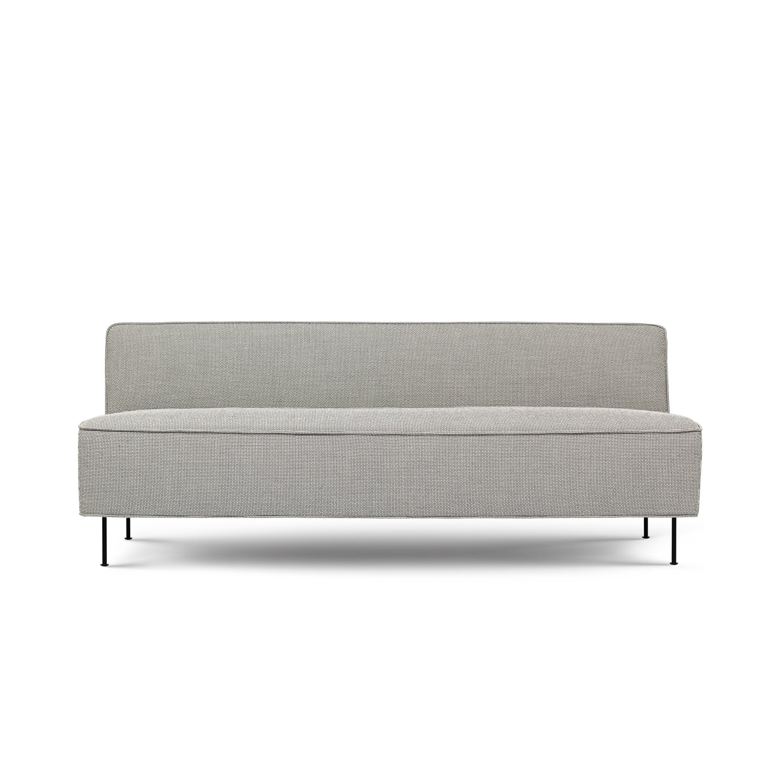 Modern line sofa 2 seater by greta m grossman for gubi for Modern line furniture