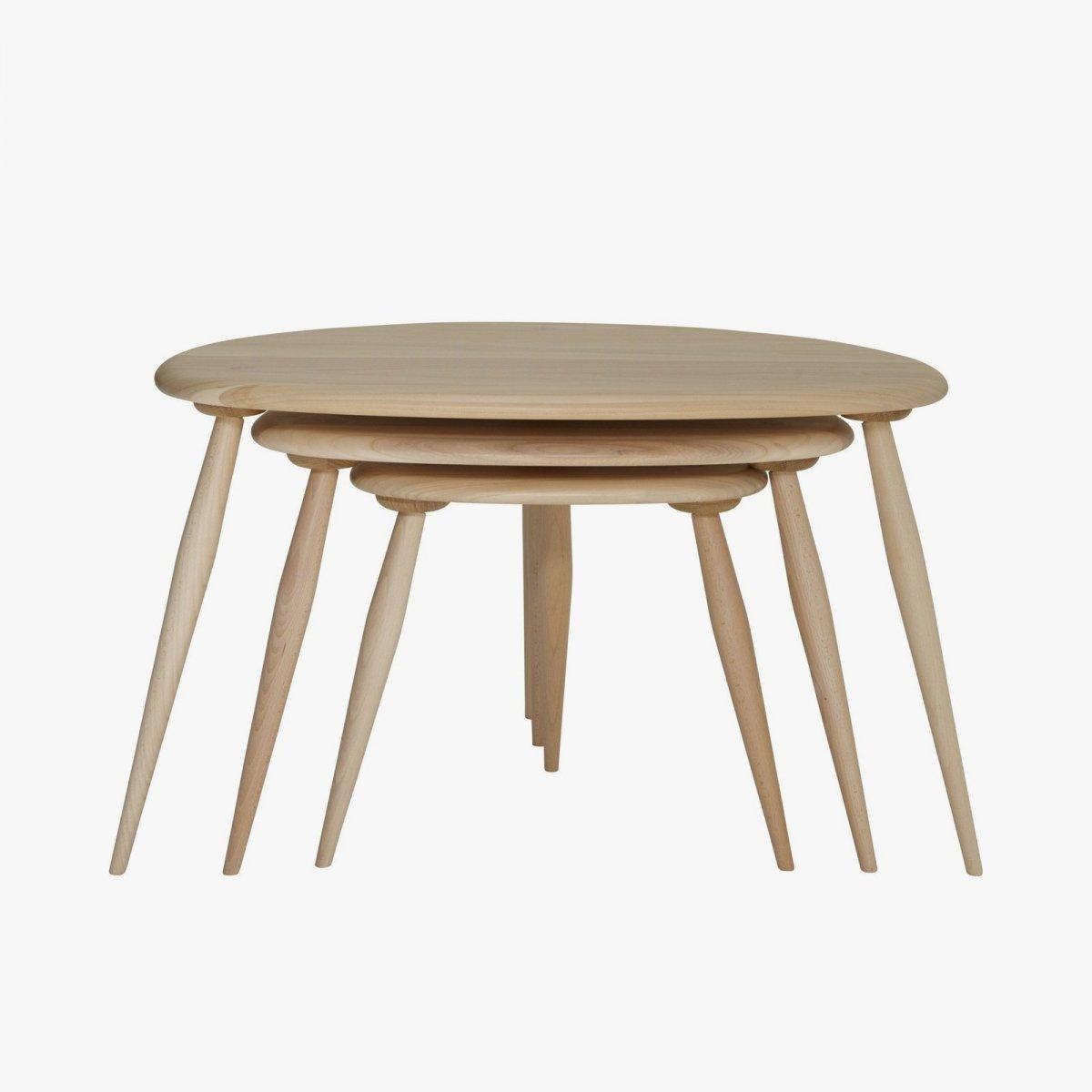 Originals Elm & Beech Nest Of Tables.