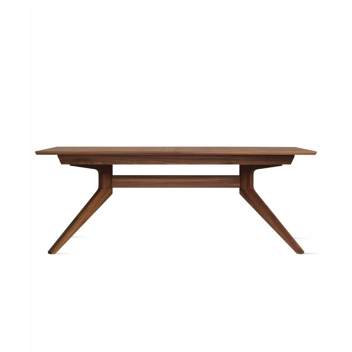 Cross Extending Table, walnut.