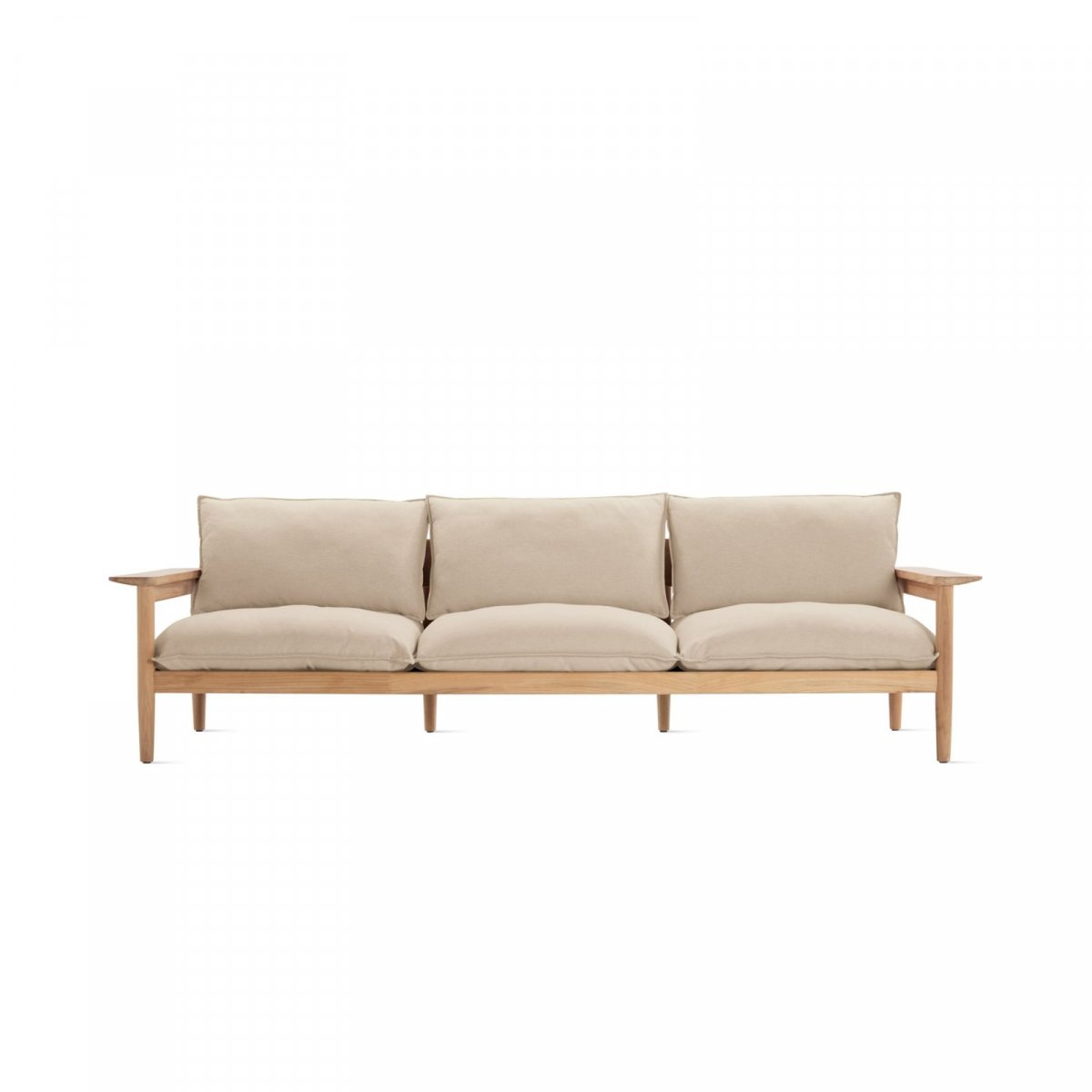 Terassi Three-Seater Sofa, papyrus.