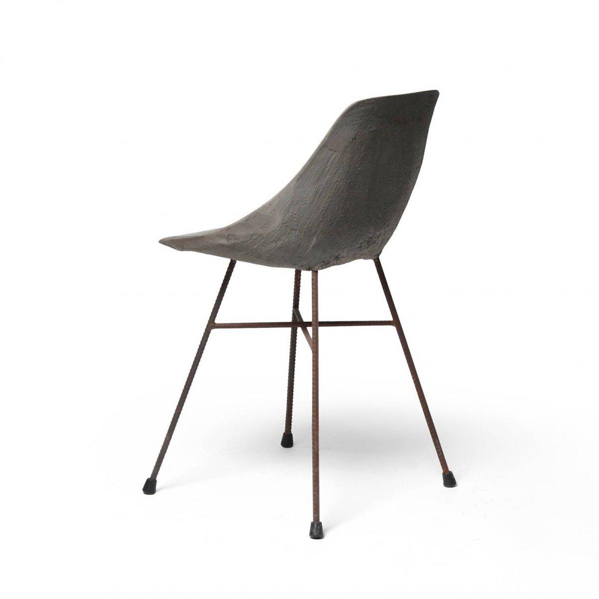 Hauteville Chair, back view.