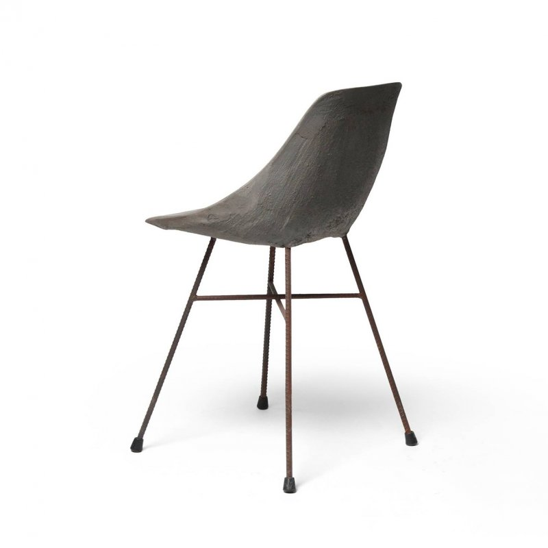 Hauteville Chair, back view.