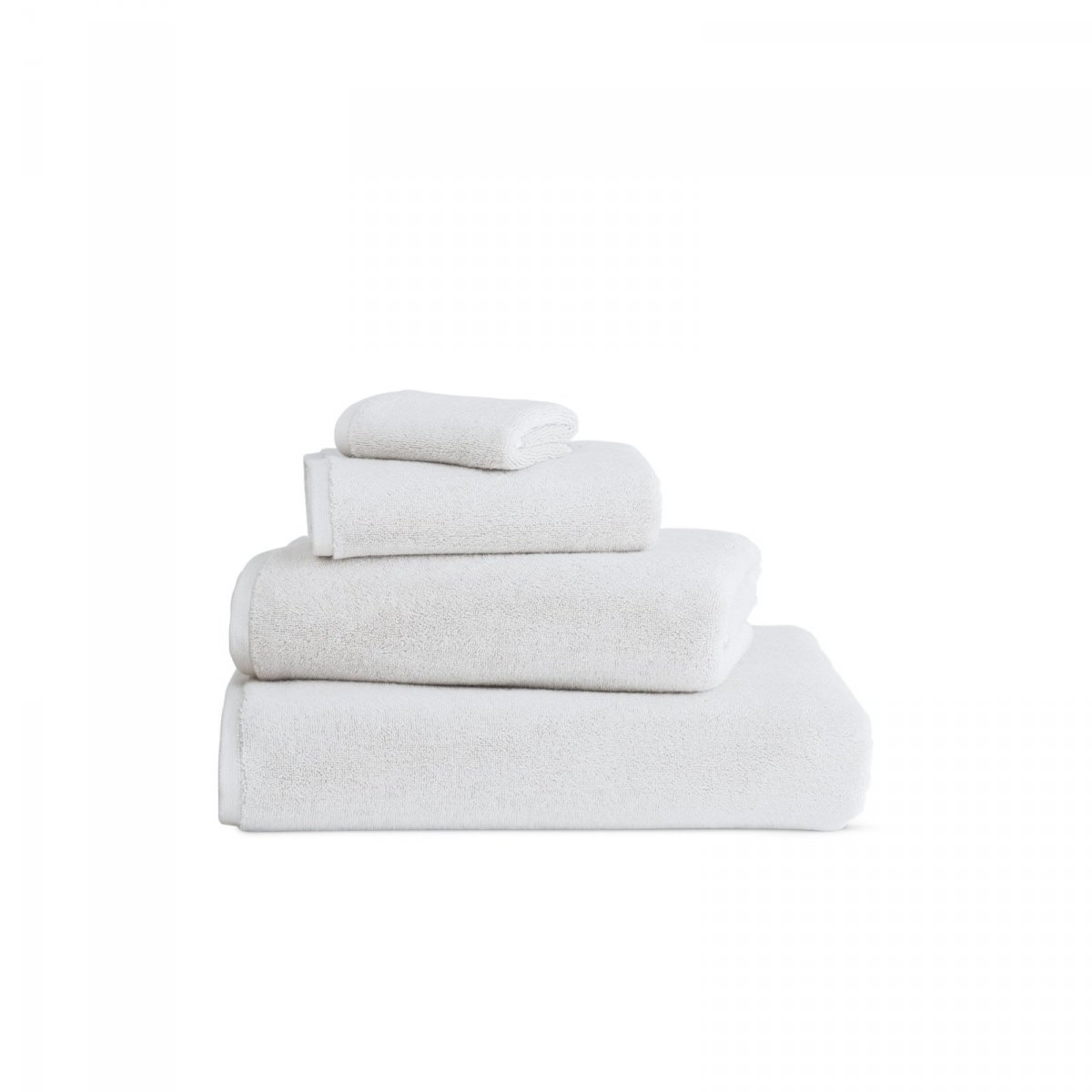 DWR Aerocotton Towels, white.